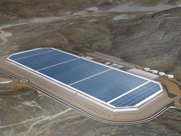 特斯拉超级工厂想象图