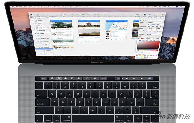 Touch Bar是位于键盘上方的一条触控屏幕
