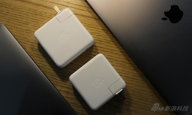 13与15寸版本充电器大小不同