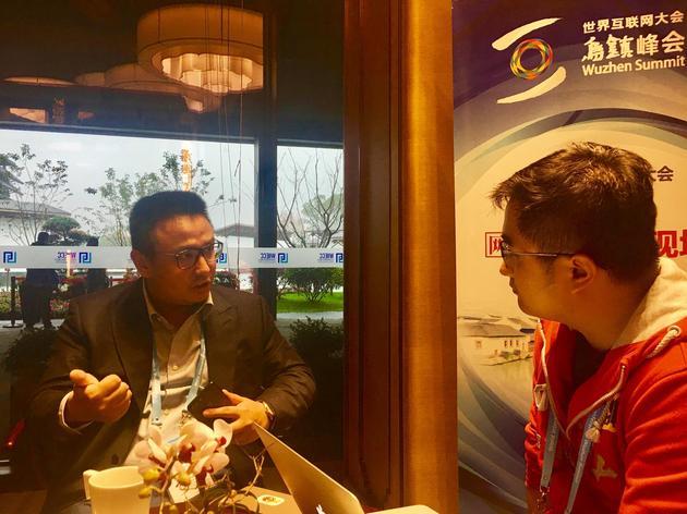 饿了么创始人张旭豪接受新浪科技专访