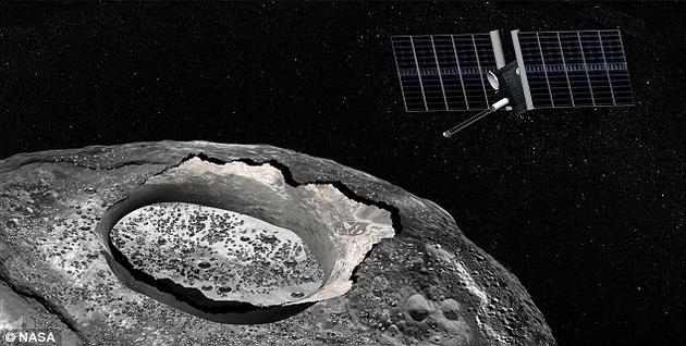 美国宇航局目前正考虑发射一颗探测器飞往这颗太阳系内最大的金属小行星,如果成行,那这将是科学家们首次对一颗完全由金属构成的天体进行探测