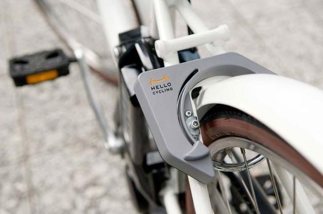 """Hello Cycling""物联网共享单车"