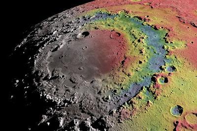 最新数据揭示月球大型多环盆地成因:或因天体撞击月面形成