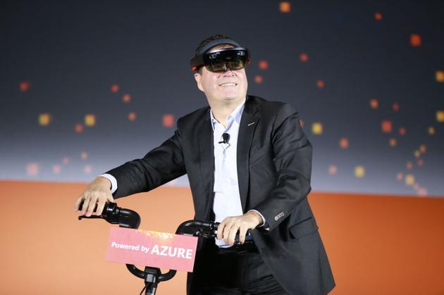 微软公司资深副总裁,大中华区董事长兼首席执行官柯睿杰(Alain Crozier)