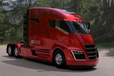 续航逾千公里的氢燃料电池卡车问世 2020年开始生产