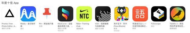 年度十佳App