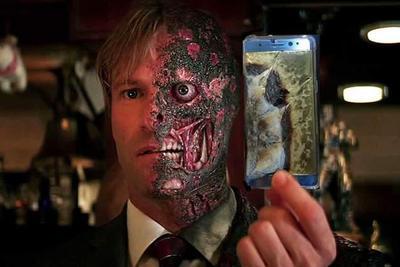 伤心的泪儿谁来擦:三星手机又爆炸!