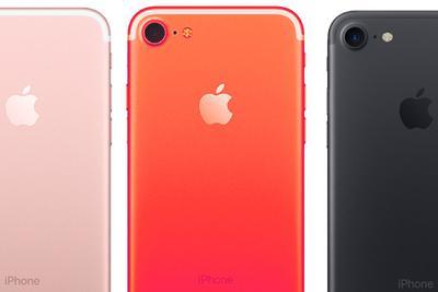 传苹果明年将推红色iPhone 7s和iPhone 7s Plus