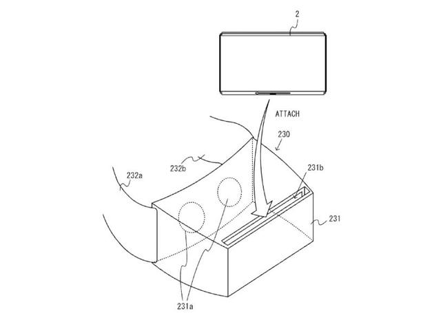任天堂提交的关于VR的专利