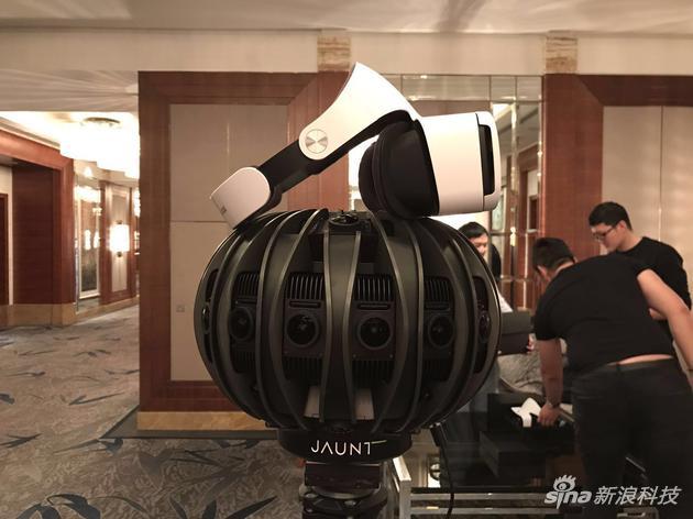 Jaunt OneVR摄像机和小米VR