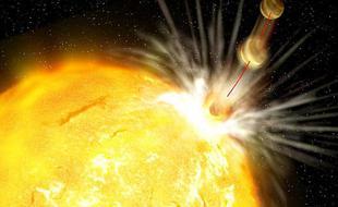 300光年外怪异类日恒星吞噬行星
