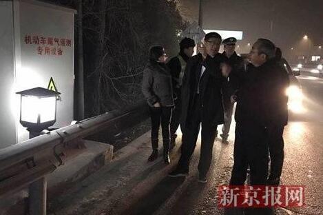 """陈吉宁""""夜探""""北京重污染应急"""