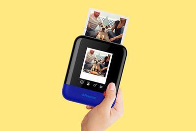 宝丽来发布新款数码拍立得相机Polaroid Pop