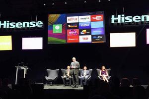 海信在CES发布电视新品