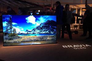 索尼发布首款4K OLED电视