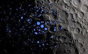"""月球永久阴影区或存""""火花""""放电现象"""