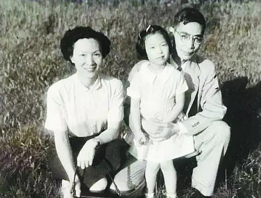郭永怀、李佩夫妇和女儿郭芹