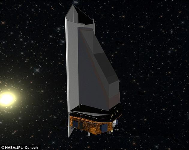"""""""近地天体相机""""空间望远镜项目计划对地球轨道附近空间展开监视,搜寻任何可能对地球构成潜在威胁的小天体目标。"""