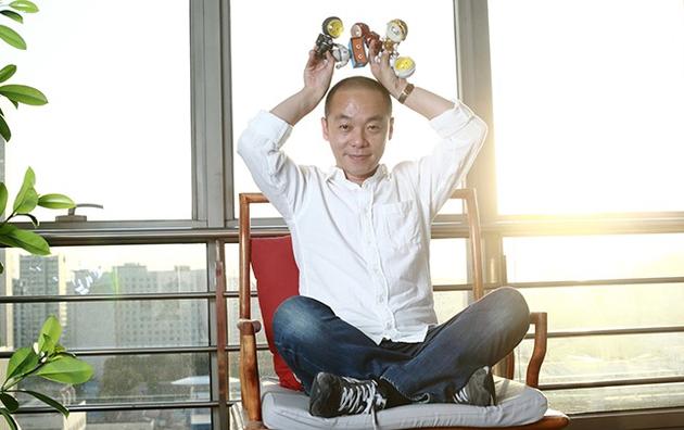 图为暴风集团董事长、CEO冯鑫