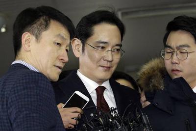 三星继承人李在镕被控向朴槿惠闺蜜行贿430亿韩元