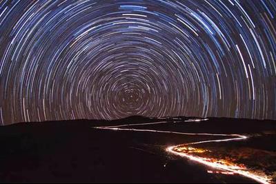 星星的轨道:星星为什么跟着我们跑?