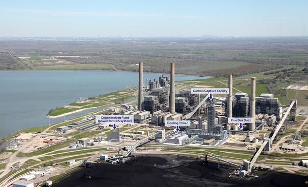 """""""新佩特拉""""项目,碳捕集装置就建在发电站旁"""