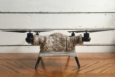 这个寒冬给你的无人机来件既时尚又保暖的毛衣吧