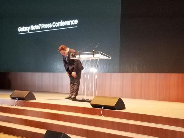 三星公布Note7燃损原因 并推出针对性安全措施(附中文视频)