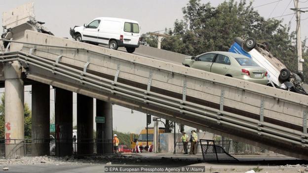 2010年的智利地震影响深远。