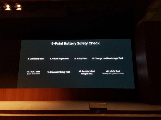 """""""8项电池安全检查措施"""""""