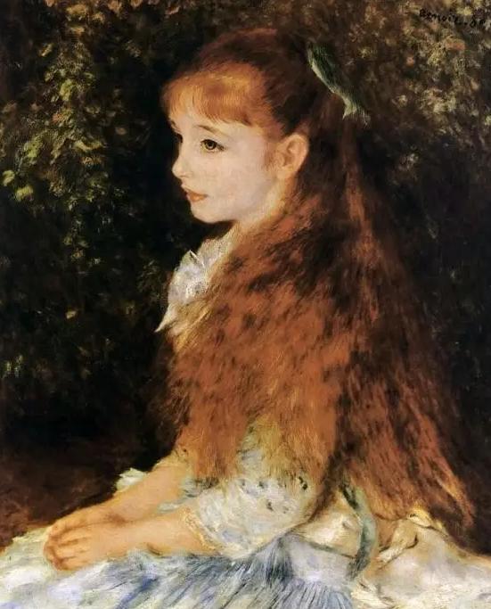 《康达维斯小姐的画像》图片来源:Wikipedia