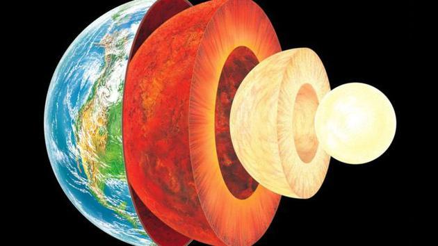 日本科学家研究认为地球内核成分主要是铁、镍和硅