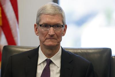 苹果CEO库克谈移民禁令:考虑用法律手段反击特朗普