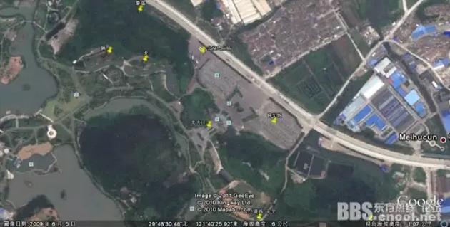 ▲摘自《戏说宁波景区的逃票路线》帖子的宁波雅戈尔动物园的地图
