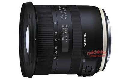 腾龙10-24mm II镜头曝光:内置VC防抖改用新对焦马达