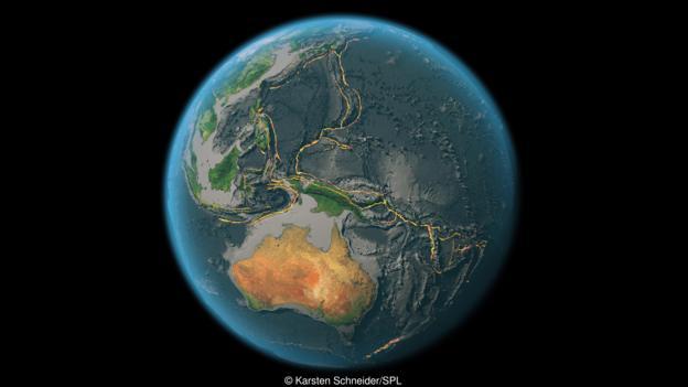 板块构造实现了碳元素在地球内部和外部之间的循环。