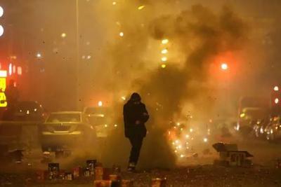 北京元宵节放烟花推升PM2.5浓度:将迎重污染天气