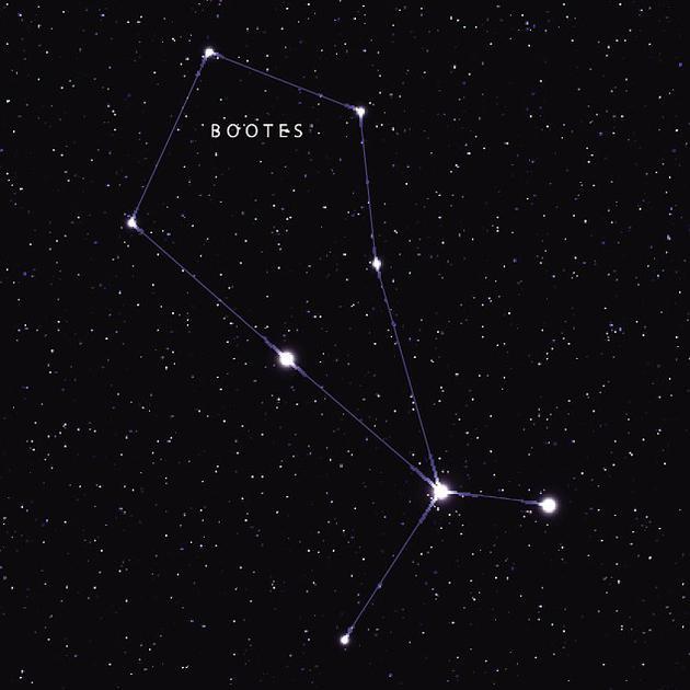 这颗白矮星位于牧夫座,其大气层中富含碳和氮,甚至有水的成分。