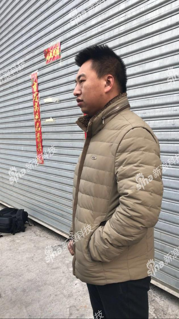 被拖欠押金的快递员郑凯