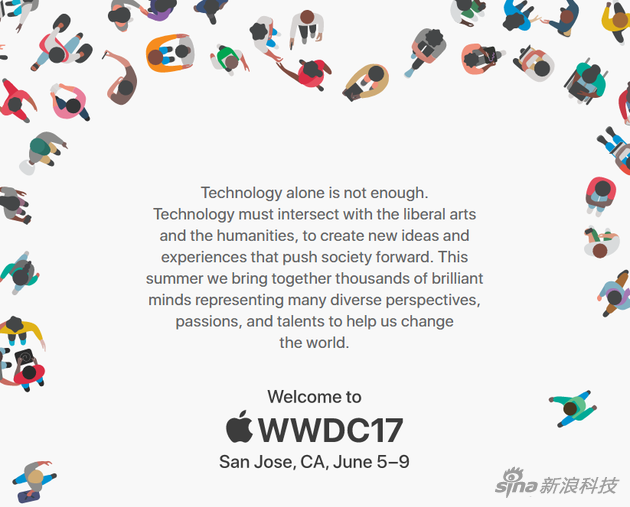 WWDC2017开发者大会官网设计