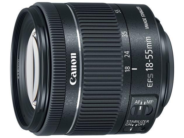 新款EF-S 18-55mm F4-5.6 IS STM镜头