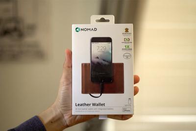 自带电池Lightning线 NOMAD钱包挽救iPhone电量