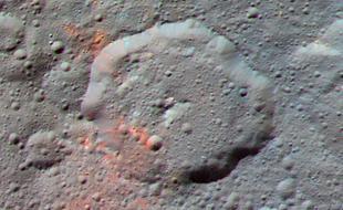 黎明号在谷神星表面发现有机物