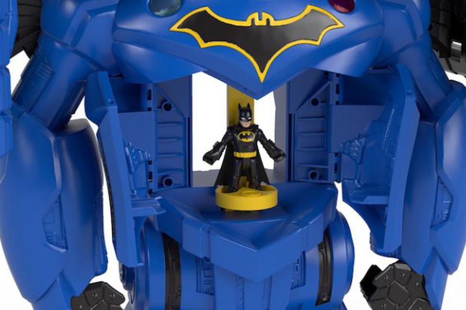 费雪利用3D打印及VR技术设计了一款28英寸高的玩具