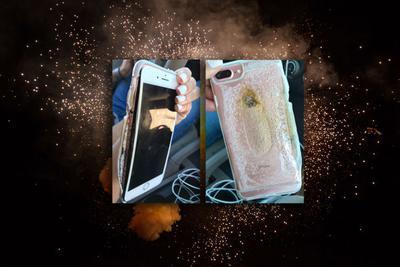 三星Note 7爆炸已成过去 苹果iPhone 7 Plus又炸了