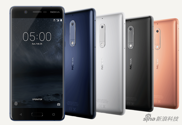 Nokia 5手机(图集)