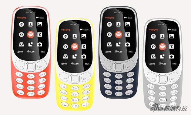 复刻版Nokia 3310(图集)