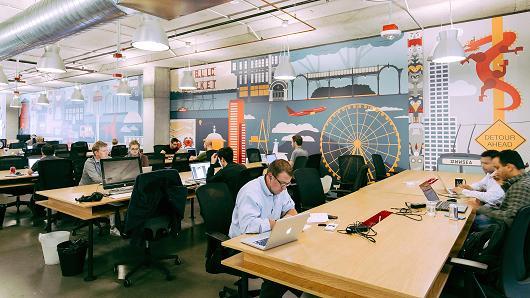 众创空间WeWork西雅图办公室
