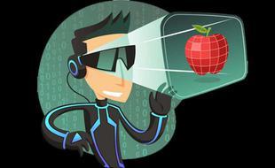 在AR领域虽无产品 但业内看好苹果