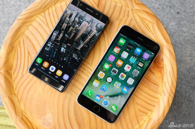 三星Note7與iPhone 6s